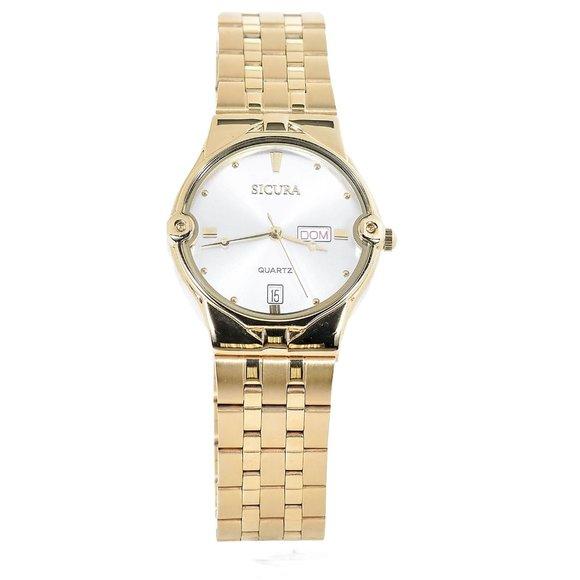Sicura Gold Watch
